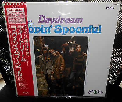 LP THE LOVIN' SPOONFUL - Daydream  Japan  1982   w/OBI  MINT