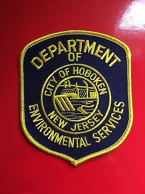 Hoboken New Jersey Environmental Services  Shoulder Patch