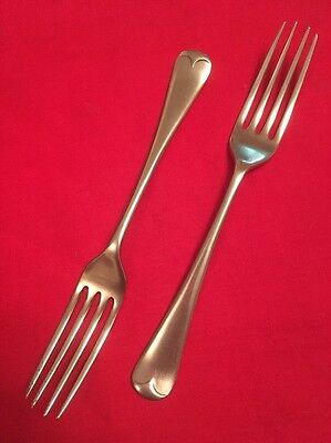 Pair Of Vintage Silver Plated Forks By Barker Bros. c.1907-1930