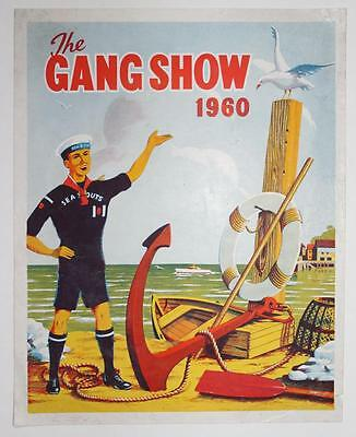 SEA SCOUTS - The GANG SHOW Original Poster 1960