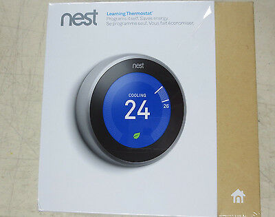 Nest Learning Thermostat 3rd Generation - NEW IN SEALED BOX