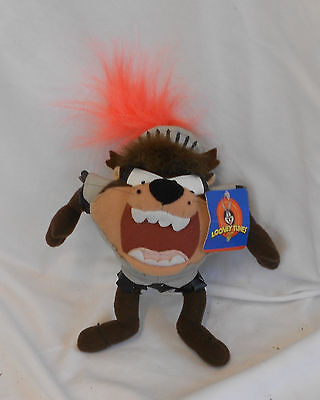 STUNNING Vintage Collectable Rare WARNER BROTHERS TASMANIAN DEVIL STUFFED TOY