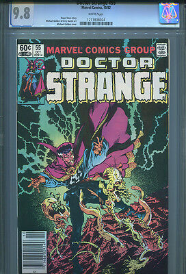 DOCTOR STRANGE # 55  CGC 9.8  White Pages