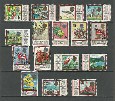 Trinidad and Tobago 1969 set of 16 to $5, used.  SG339-354