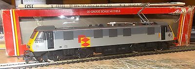 Hornby OO R586  Class 90 040 Electric Locomotive Railfreight Grey