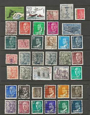 Spain / Portugal used selection, 1p per stamp!! [2 scans]
