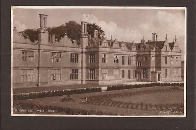 Country Houses/Stately Homes. Kirby Hall, West Front. RP.