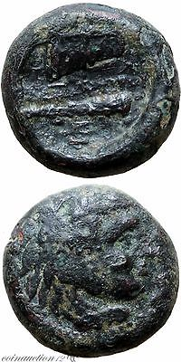 Uncertain Mint Ancient Greek Coin Ae 17 Alexander The Great 323 Bc