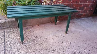 Vintage Outdoor Bench Timber