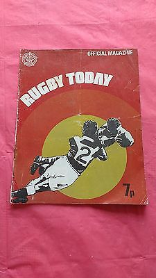 'Rugby Today' Rugby League Issue 1  Magazine