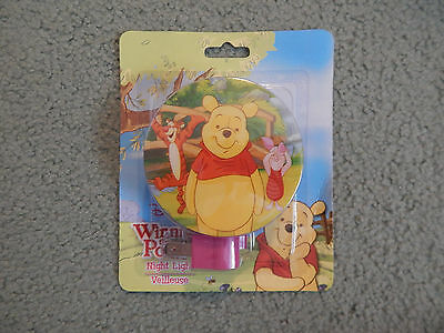 Winnie The Pooh Night Light # 2 - (Brand New Never Used)