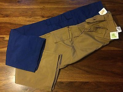 CLEARANCE Mens 015M Russell Heavy Duty Work Trousers. Camel x 105. E.