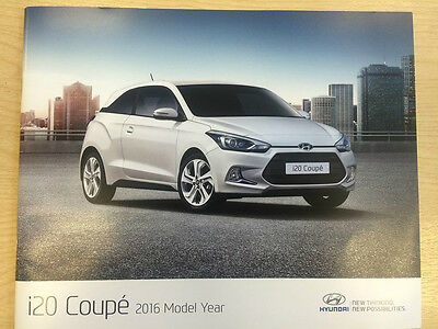Hyundai i20 Coupe Brochure - March 2016 - 31 Pages
