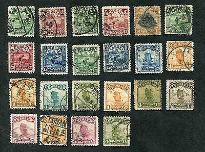 Stamp Lot Of Early China, Including Junks