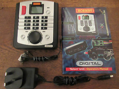 hornby r8213 digital select controller&transformer- wires- instruction book new