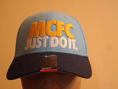 Manchester City Official Licensed Nike Hat Adults Med/large New
