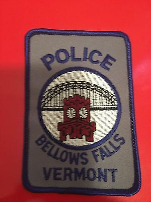 Bellows Falls  Vermont Police  Shoulder Patch