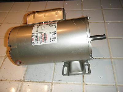 Clarke Industrial 115 v electric motor 3450 rpm 1.5 hp single phase reversible