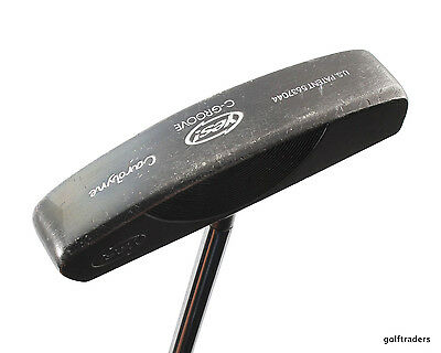 "Yes C-Groove Carolyne Putter Centre Shafted Steel 35"" +New Grip #d1347"