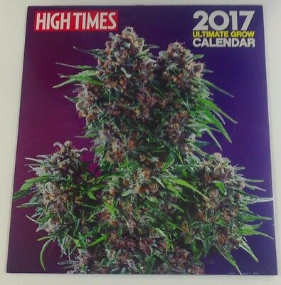 High Times 2017 Ultimate Grow Calendar Brand Marijuana New Sealed Free Shipping