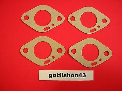 4 Vintage Kart Mini-Bike Tecumseh Lauson Power Products Carb Base Gaskets