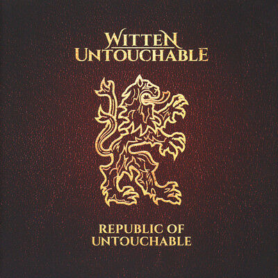 Witten Untouchable (Lakmann One, Mess & Ka (Vinyl 2LP+CD - 2017 - DE - Original)