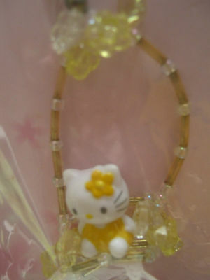 cute Hello Kitty mobile cell phone charm/strap Sanrio licensed product