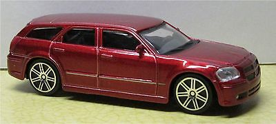 1/43 DIECAST 2006 DODGE MAGNUM RT by BBURAGO - GOOD CONDITION-GOOD TRACK SCENERY