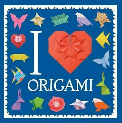 I Heart Origami by Sterling Children's Paperback Book (English)