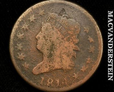 1814 Classic Head Large Cent- Semi Key !! Better Date !! #p1813