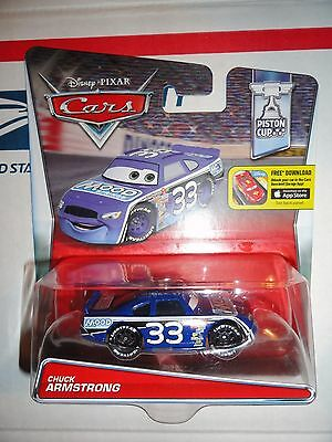 Disney Pixar Cars Chuck Armstrong  New
