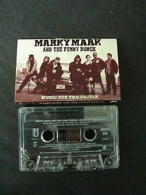 Marky Mark And The Funky Bunch Music For The People Rare Cassette Tape!