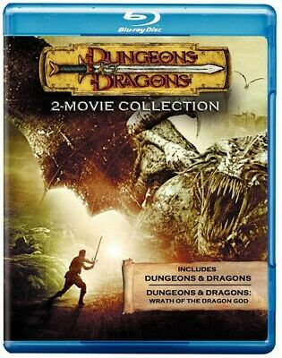 Dungeons & Dragons 2-Movie Collection [New Blu-ray] Ac-3/Dolby Digital, Dolby,