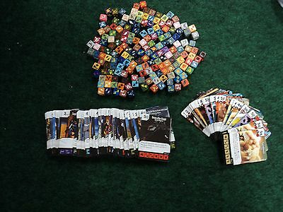Dice Masters 133 Yugioh and 39 Spiderman commons/uncommons New.