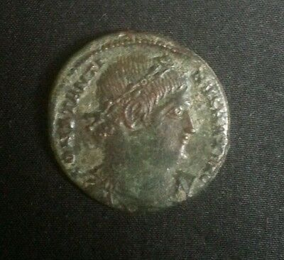 Constantine The Grate Glory Of Roman Army Ancient Bronze Coin High Grade