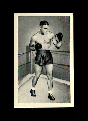 Bargain Day~~U.t.c.1939 Boxing Card  # 19 Robey Leibbrandt - World Famous Boxers
