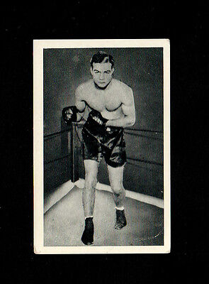 Bargain Day ~~ U.t.c.1939 Boxing Card  # 81 Freddie Miller - World Famous Boxers