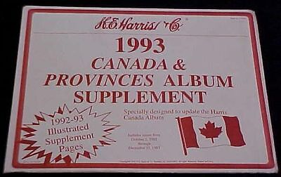 1993   Harris Canada And Provinces  Supplement