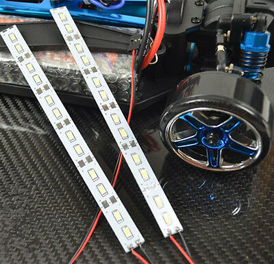24 leds Chassis Light Aluminum LED Strip 6V for 1/10 1/8 RC Car Crawler Buggy I