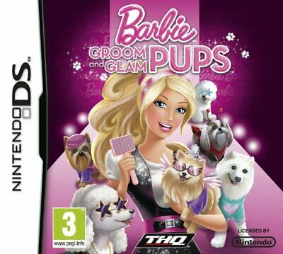 Barbie: Groom and Glam Pups (Nintendo DS) - Game  YSVG The Cheap Fast Free Post