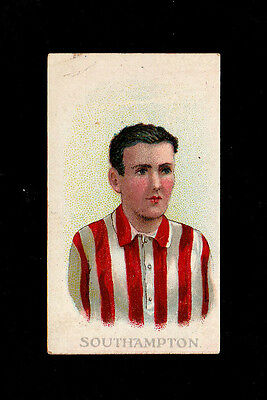 """Bargain Day ~~ Wills 1907 ( Football ) Type Card """" Southampton -- Club Colours """""""