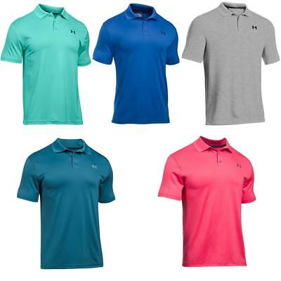 Under Armour 2017 Uomo indumento caldo Performance T-Shirt Polo Da Golf
