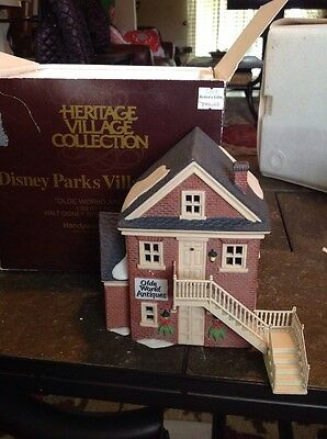 Department 56 Disney Parks Village, Olde World  Antiques I, Liberty Square