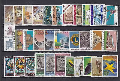 ♠ Luxembourg Lot De Timbres En Series Neuf **/ Mnh Y&t 64 €