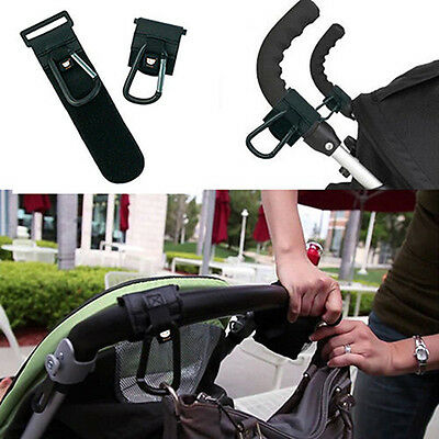 Baby Buggy Strong Hook Stroller Shopping Bag Clip Carrier Pushchair Pram Hanger