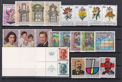 ♠ Luxembourg Lot De Timbres En Series Neuf **/ Mnh Y&t 61 €