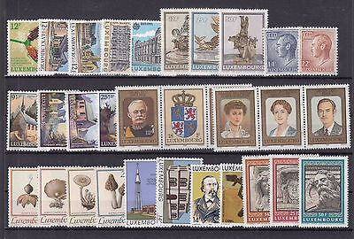 ♠ Luxembourg Lot De Timbres En Series Neuf **/ Mnh Y&t 62 €