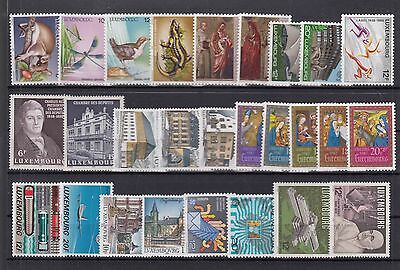 ♠ Luxembourg Lot De Timbres En Series Neuf **/ Mnh Y&t 65 €