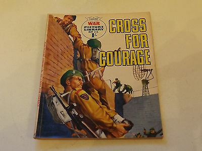 WAR PICTURE LIBRARY NO 315!,dated 1965!,GOOD for age,RARE 52!YEAR OLD issue.