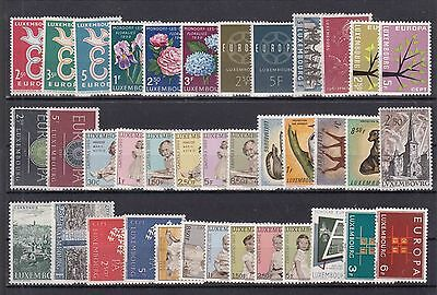 ♠ Luxembourg Lot De Timbres En Series Neuf **/ Mnh Y&t 48 €